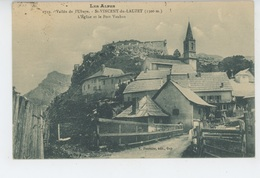 SAINT VINCENT DU LAUZET - L'Eglise Et Le Fort Vauban - Other Municipalities
