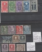 TIMBRE DE L ITALIE OBLITEREES 1923-33 Nr VOIR SUR PAPIER AVEC TIMBRES COTE 71.50€ - 1900-44 Victor Emmanuel III