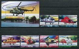 Cuba 2017 / Aviation Helicopter  MNH Aviacion Helicopteros Hubschrauber Luftfahrt / Cu6309  32 - Helicópteros