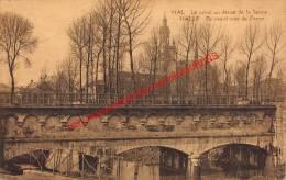Le Canal Au Dessus De La Senne - Halle - Halle
