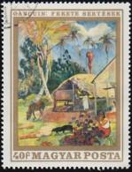 HUNGARY - Scott #1975 Black Pigs By Paul Gauguin (*) / Used Stamp - Moderni