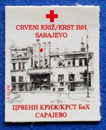 BOSNIA AND HERZEGOVINA BIH FEDERATION RED CROSS SARAJEVO 2000 CHARITY STAMP - MNH - Bosnia Herzegovina