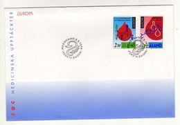 Enveloppe 1er Jour EUROPA  ALAND Oblitération MARIEHAMN 05/05/1994 - Aland