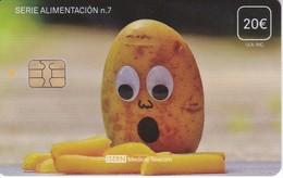 ISN-257 TARJETA DE ESPAÑA DE ISERN  DE LA SERIE ALIMENTACION Nº7 (PATATA-POTATO) - Alimentación