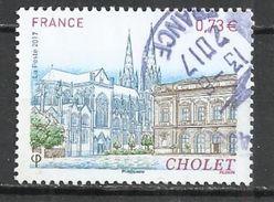 FRANCE 2017 - CHOLET - OBLITERE USED GESTEMPELT USADO - Oblitérés