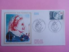 FRANCE FDC 1985 YVERT 2361 HOMMAGE AUX FEMMES PAULINE KERGOMARD - FDC