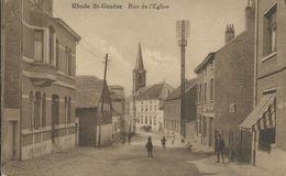 RHODE ST GENESE - Rue De L'Eglise - Sint-Pieters-Leeuw