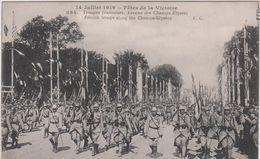 Paris : 14 Juillet 1919  Fêtes De La Victoire  ( Soldat) Troupe  Française - Altri