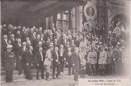 Paris : 14 Juillet 1919  Fêtes De La Victoire  ( Soldat) Fêtes Des  Maréchaux - Altri