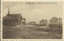 RHODE ST GENESE - ESPINETTE CENTRALE - PARVIS NOTRE DAME - Sint-Pieters-Leeuw