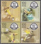 Ukraine 2004 Sport Spiele Fußball Football Soccer Organisationen FIFA, Mi. 642-5 ** - Ukraine