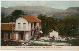 SAO TOME HABITACAO DOS EMPREGADOS NA ROCA VISTA ALEGRE - Sao Tome And Principe