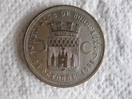 Médaille New Club De Bordeaux 1851. Société Des Steeple Chases 1857, Par Massonnet - France