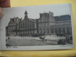 B14 3344 - 62 ARRAS - LA GARE DU NORD - ANIMATION ATTELAGES  (+ DE 20000 CARTES DE MOINS 1€) - Arras