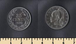 Liberia 25 Cents 1970 - Liberia