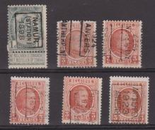België/Belgique Preo Samenstelling/composition De/vanaf N° 155-3074. Namur Antwerpen/Anvers. - Préoblitérés