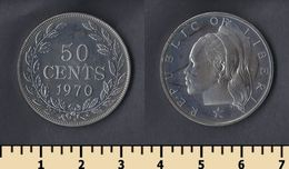 Liberia 50 Cents 1970 - Liberia