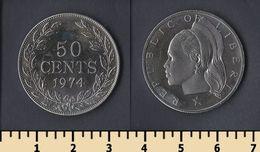 Liberia 50 Cents 1974 - Liberia