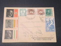 ESPAGNE - Carte Patriotique Nationaliste ,  De Manacor Pour  Sineu En 1939 Avec Censure- L 11490 - Marques De Censures Nationalistes