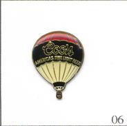 Pin's Montgolfière - Ballon Bière Coors. Non Estampillé. Epoxy. T568-06 - Airships
