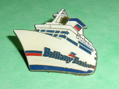 Pin's / Bateaux : Ferry , Brittany Ferries  TB2U - Boats