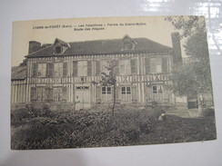 CPA  27  LYONS-la-FORET Les Taisnières Ferme Du Grand-Maitre Route Des Hogues T.B.E. T.B.E. - Lyons-la-Forêt