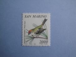Oiseaux Birds 1990 Saint Marin Yv 1256 Scott 1220 Michel 1462  SG 1390 - Oiseaux