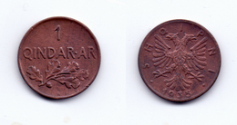 Albania 1 Qindar Ar 1935 - Albania