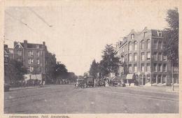 Amsterdam Amstelveenscheweg Hoek Lomanstraat Oude (vracht)auto's     877 - Amsterdam