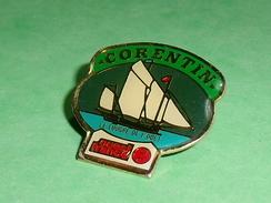 Pin's / Bateaux : Voilier ,corentin , Ouest France  TB2U - Boats