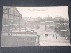 FRANCE - Carte Postale De La Grève Des Cheminots En 1910 , La Gare Du Nord Sans Locomotives -  L 11496 - Strikes