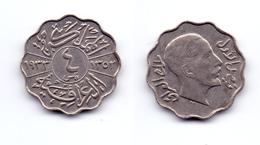 Iraq 4 Fils 1933 Faisal I - Iraq