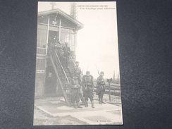 FRANCE - Carte Postale De La Grève Des Cheminots En 1910 , Poste D 'Aiguillage Occupé Militairement -  L 11497 - Huelga