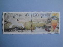 Oiseaux Birds 1992 Portugal Yv 1912/3 Scott Xx Michel 1934/5  SG 2293/4 - Oiseaux