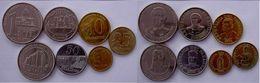 PARAGUAY SERIE 7 MONETE 1 MIL 500-100-50-10-5-1 GUARANTES FDC - Paraguay