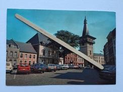 JODOIGNE «La Grand Place «Panorama,Église En Travaux,Véhicules Années 80 Mercedes,Renaud....Édit SMETZ 1988 . - Jodoigne