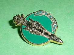 Pin's / Avions  : Fusée , As 30 Laser  / Verso Amc93   TB2U - Airplanes