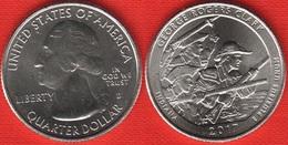 "USA Quarter (1/4 Dollar) 2017 D Mint ""George Rogers Clark, Indiana"" UNC - 2010-...: National Parks"
