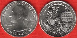 "USA Quarter (1/4 Dollar) 2017 P Mint ""Ellis Island In New Jersey"" UNC - 2010-...: National Parks"