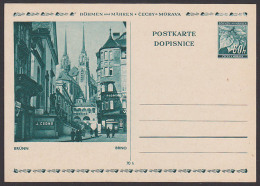 Bildpostkarte Brno Brünn GA P6 Böhmen Und Mähren Ungebraucht - Bohemia Y Moravia