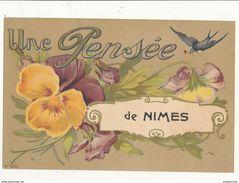 81 NIMES UNE PENSEE CPA BON ETAT - Nîmes