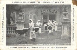 CPA Nice National Association For Orphans Of The War - Nurserie Pour Les Orphelins De Guerre - Santé, Hôpitaux