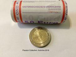 """Pièce  Commémorative 2 Euro  UNC Autriche  2018   """"  100 Ans De Le République Autrichienne  """" - Autriche"""