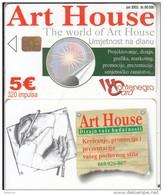 MONTENEGRO - Art House, Tirage 50000, 06/03, Sample(no CN) - Montenegro