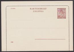 Böhmen Und Mähren Kartenbrief Ungebraucht K2 - Böhmen Und Mähren