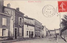 """52. ECLARON . CPA. RUE DU FOUR.  ANNÉE 1907. ANIMATION DEVANT CHEZ MICHEL """" TAILLEUR """" - Eclaron Braucourt Sainte Liviere"""