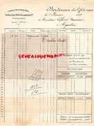 36- CHATEAUROUX-RARE BORDEREAU EFFETS REMIS BANQUE -COMPTOIR ESCOMPTE DE L' INDRE-BATAILLE ROUFFILANGE-1899 - 1800 – 1899