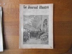 LE JOURNAL ILLUSTRE DU 20 AVRIL 1890  LE VOYAGE DU PRESIDENT DE LA REPUBLIQUE,L'ECOLE POLYTECHNIQUE,TREICH-LAPLENE EXPLO - Bücher, Zeitschriften, Comics