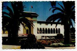 Maroc -- CASABLANCA  -- Le Palais De Justice  (autocar ) -- Timbre -- Cachet - Casablanca