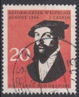 Germania 1964 Sc. 891 Jehan Cauvin Calvino Calvin Calvinismo Germany Used - Teologi